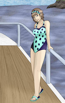 Seiko In Swimsuit by usedbooks