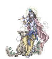 Sri Sri Krishna by leksbronks