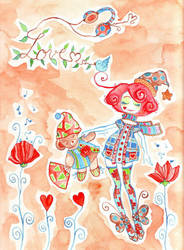 Good night love by slappy-chan