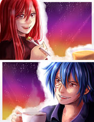 Jellal/Erza by Shandisworld