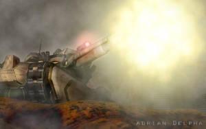 Tank Shoot by DelphaDesign
