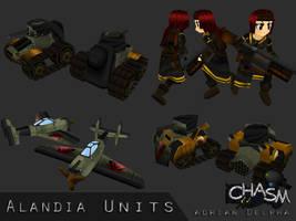 Various Alandia Units by DelphaDesign