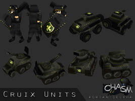 Various Cruix Units by DelphaDesign