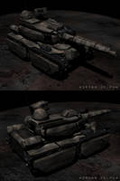 Tank Front and Back by DelphaDesign