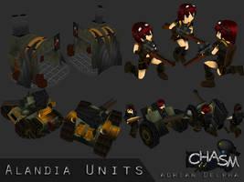 Alandia Various Units 2 by DelphaDesign