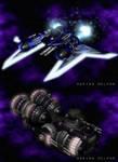 Starships by DelphaDesign