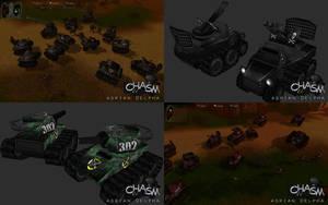 Cruix Tanks Redone by DelphaDesign