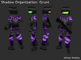 Shadow Organization Grunt by DelphaDesign