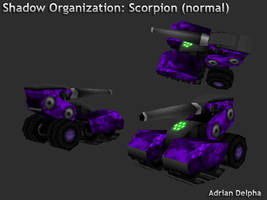 Scorpion Tank Mobile Mode by DelphaDesign