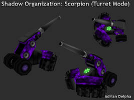 Scorpion Tank Turret Mode by DelphaDesign