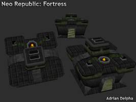 Neo republic Fortress by DelphaDesign