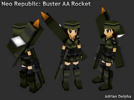Buster Rocket Girl by DelphaDesign