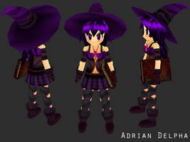 Witch Game Character 2009 by DelphaDesign