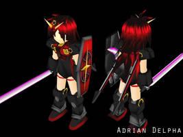 Gundam Girl Character 2009 by DelphaDesign