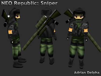 Neo Republic: Sniper by DelphaDesign