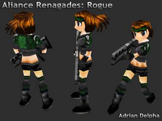 Alliance Renegades: Rogue by DelphaDesign