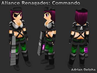 Alliance Renegades: Commando by DelphaDesign