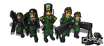 Chasm Cruix Infantry by DelphaDesign