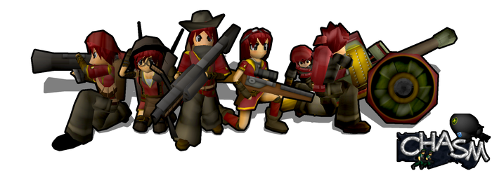 Chasm Alandia Infantry by DelphaDesign