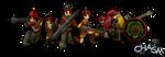 Chasm Alandia Infantry by DelphaDesign