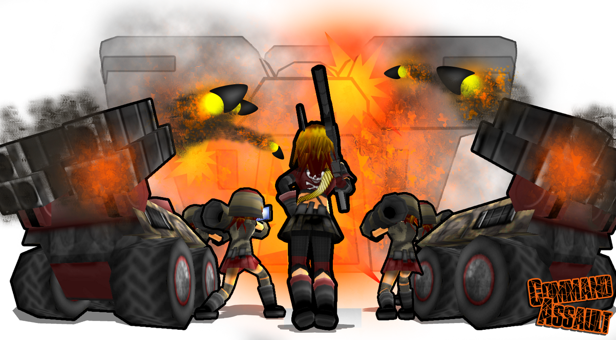 Command Assault Siege by DelphaDesign