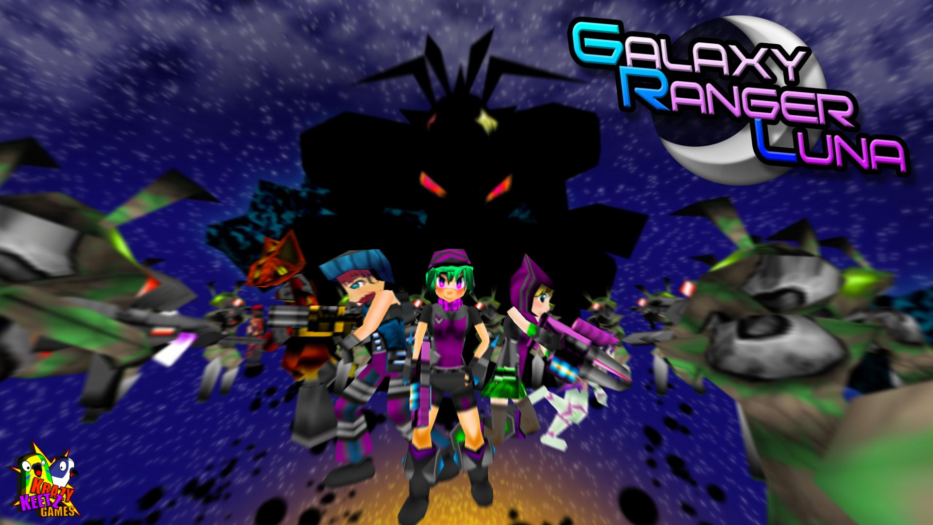 Super Galaxy Ranger Luna by DelphaDesign