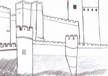 Castillo de la Mota by DarkLordWriter
