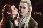 Legolas and  Tauriel 3 - The Hobbit cosplay (test) by LuckyStrikeCosplay