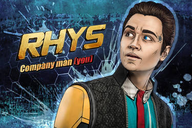 Rhys - Tales from the Borderlands cosplay by LuckyStrikeCosplay