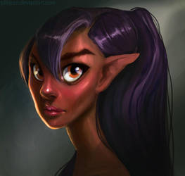 Elf by PilBjorn