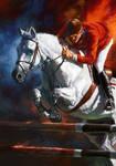 Horse Riding by katzai
