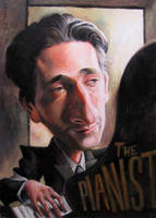 Adrien Brody: The Pianist by katzai