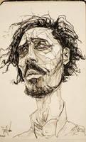 skinny self portrait by egilpaulsen