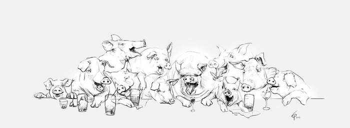 Pigsty by egilpaulsen