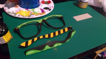 biohazard glasses by Earcl01