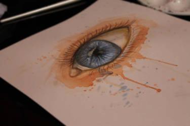 watercolour eye by Earcl01