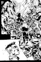 Avenging Spider-man ink sample 03 by juanpmassa