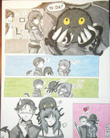 TNBC AU Comic Page Project by HoneyAppleNinja