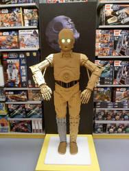 Lego C-3PO by V-kony