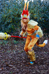 League of Legends - Radiant Wukong 2 by V-kony