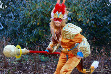 League of Legends - Radiant Wukong by V-kony