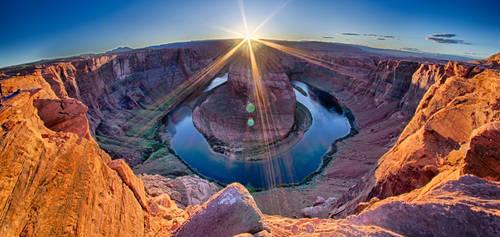 horseshoe bend, page, arizona by digidreamgrafix