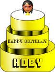 Hoby's Mii Birthday Cake by KStarboy