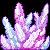 Crystal Cluster Rainbow by SlugGem