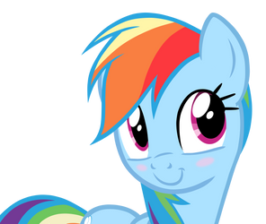 Rainbow Dash GIANT face by Translayer