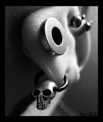 Skullie by knirket