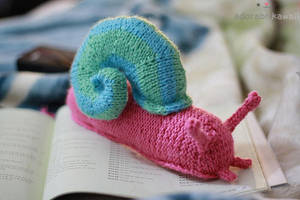 Snail Amigurumi by adorablykawaii