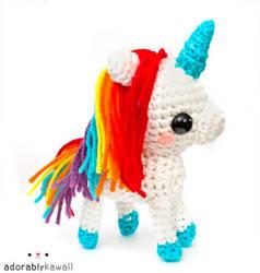 rainbow unicorn 4 by adorablykawaii