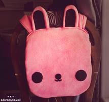 Bunny Tote Bag by adorablykawaii
