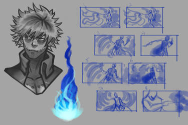 Dabi Study and Thumbnails by Lilyfield